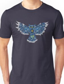 Blue night owl Unisex T-Shirt