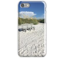 Escape to the Beach by Keren iPhone Case/Skin