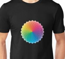 Gorgeous Red Blue Yellow Green Color Wheel T-Shirt Unisex T-Shirt