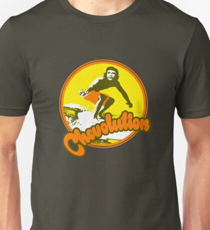 Surfer Che Chevolution Unisex T-Shirt