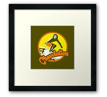 Surfer Che Chevolution Framed Print