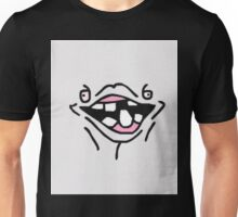 Funny Ugly Silly Face T-Shirt Unisex T-Shirt