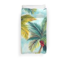 Tropical Palm Trees Duvet Cover