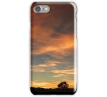 Out of an Orange Colored Sky iPhone Case/Skin