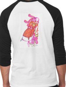 Miss Lorraine Men's Baseball ¾ T-Shirt