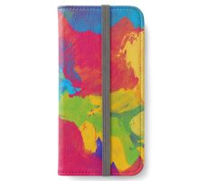 Abstract Watercolor  iPhone Wallet/Case/Skin
