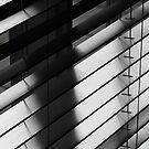 Slats and shadows by Maggie Hegarty