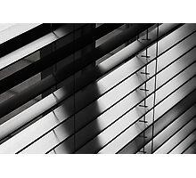 Slats and shadows Photographic Print