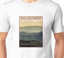 Skyline Drive, Shenandoah National Park, Virginia Unisex T-Shirt