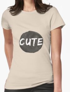 Cute Womens Fitted T-Shirt