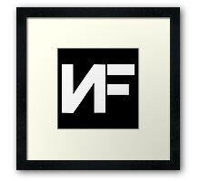 NF Rap Framed Print