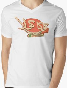 Arabia Coke Logo- Vintage Mens V-Neck T-Shirt