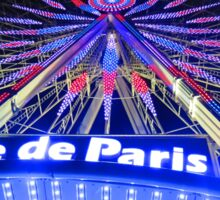 Roue de Paris Sticker