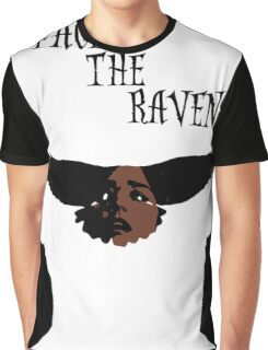 Face The Raven Graphic T-Shirt