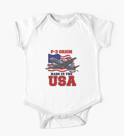 P-3 Orion Made in the USA One Piece - Short Sleeve