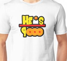 He's over 9000 Math equation Unisex T-Shirt