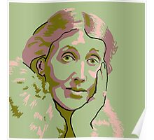 Virginia Woolf Poster