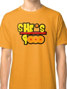 She's Over 9000 Math Equation Classic T-Shirt