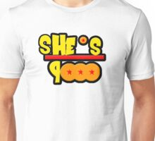 She's Over 9000 Math Equation Unisex T-Shirt