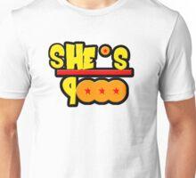 She's Over 9000 Math Equation Unisex T-Shirt