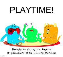 Playtime! by Sebastian Ortiz