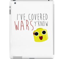 I've Covered Wars Y'know Dead Rising Frank West iPad Case/Skin