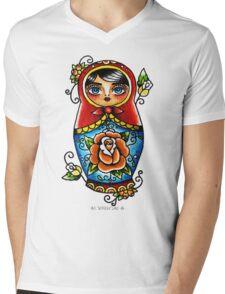 Matryoshka Doll Mens V-Neck T-Shirt
