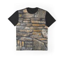 """rock wall 02"" iPhoneography Graphic T-Shirt"