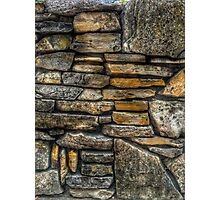 """rock wall 02"" iPhoneography Photographic Print"