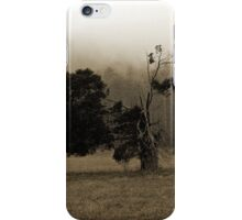 Smoky Mountains Scene-70049 iPhone Case/Skin