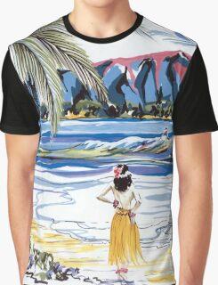Hawaiian Holiday Graphic T-Shirt