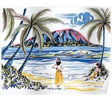 Hawaiian Holiday Poster