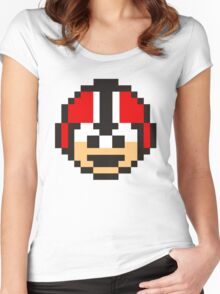 ATLANTA FALCONS Women's Fitted Scoop T-Shirt
