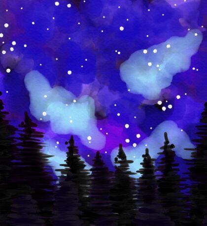 The Night Sky Sticker
