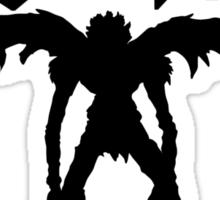 ryuk silhouette  Sticker