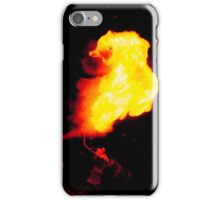 Fire Breathing Blow Torch iPhone Case/Skin