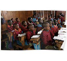 Kenyan Schoolroom  Poster