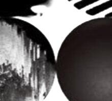 BTS Wings [White] Sticker