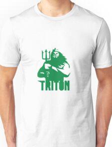 Triton Trident Isolated Retro Unisex T-Shirt