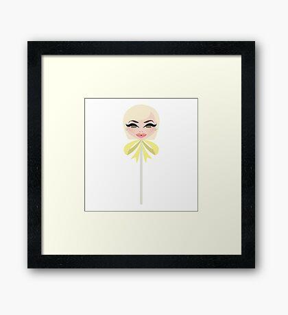 Yolanda Hadid Framed Print