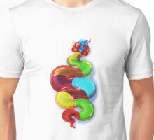 gummy snake by joejr  Unisex T-Shirt