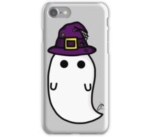 witch hat ghost iPhone Case/Skin