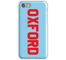 Oxford iPhone Case/Skin