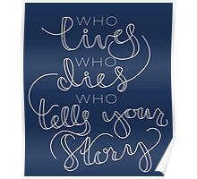 Who Tells Your Story Poster