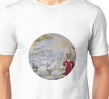 Foxtrot (circle design) Unisex T-Shirt