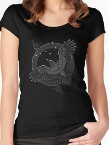 NORTHERN RAVEN Women's Fitted Scoop T-Shirt