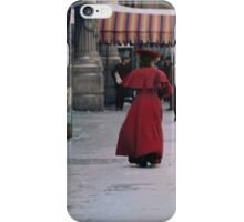 Woman in red iPhone Case/Skin