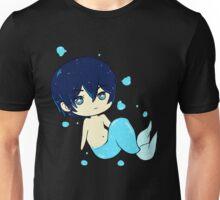 Free Haru Haruka Nanase anime chibi mermaid Unisex T-Shirt
