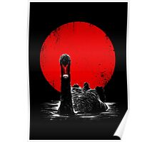 Midnight Swan Poster