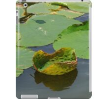 Funny Lily Pad iPad Case/Skin
